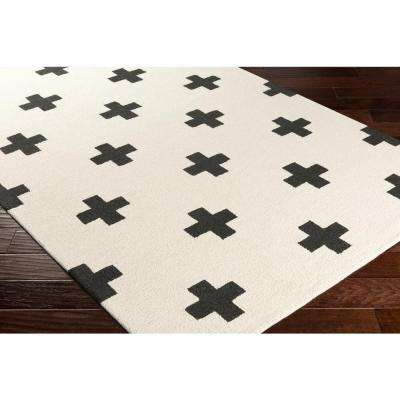 Hilda Monica Ivory 2 ft. x 10 ft. Indoor Runner Rug
