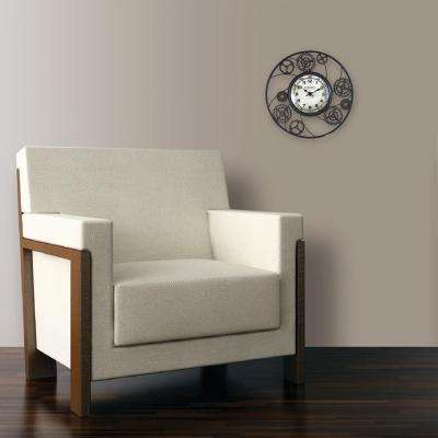 11 in. Round Gears Wire Wall Clock