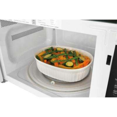 2.2 cu. ft. Countertop Microwave in Stainless Steel