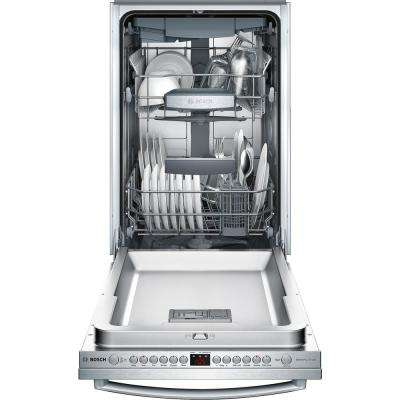 800 Series 18 in.Top Control Tall Tub Dishwasher in Stainless Steel with Stainless Steel Tub and 3rd Rack, 44dBA