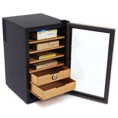 Stainless Steel 2.5 cu. ft. Cigar Cooler Humidor