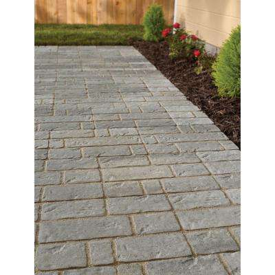 Rockford Stone 15.75 in. x 11.75 in. x 2 in. Sable Gray Concrete Step Stone (112 Pieces / 149 sq. ft. / Pallet)