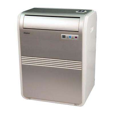 8,000 BTU 250 sq. ft. Cool Only Portable Air Conditioner with 70 Pint/Day Dehumidification Mode and LCD Remote Control