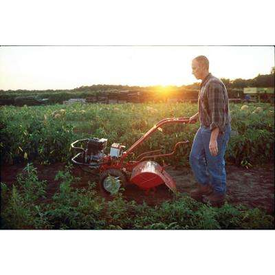 Big Red 20 in. 306 cc OHV Electric Start B&S Engine Rear-Tine Forward-Rotating Gas Tiller with One Hand Operation