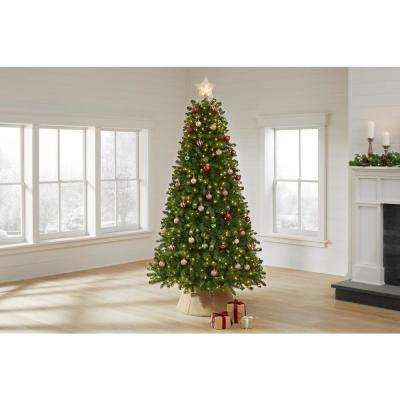 7.5 ft Fenwick Pine LED Pre-Lit Artificial Christmas Tree with 700 Color Changing Micro Dot Light