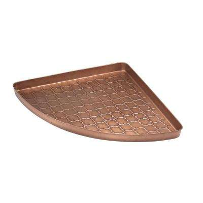 Barcelona Multi-Purpose Shoe Tray for Boots, Shoes, Plants, Pet Bowls and More in Copper