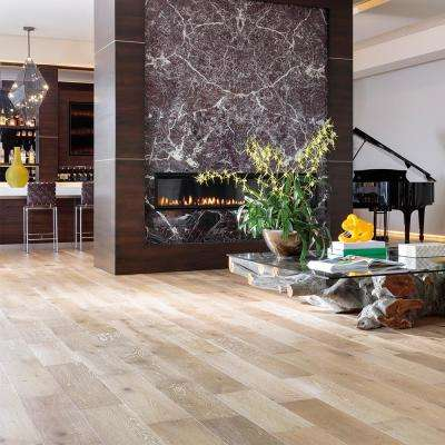 French Oak Delano 1/2 in. Thick x 7-1/2 in. Wide x Varying Length Engineered Hardwood Flooring (23.32 sq. ft./case)