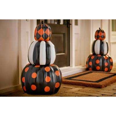 27 in. Halloween Stacked Pumpkins