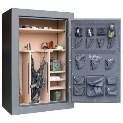 46-Gun 23 cu. ft. Electric Lock Fire Resistant Gun Safe with Premium Door Organizer