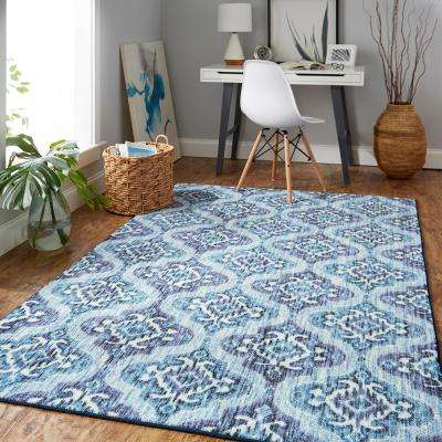 Rialto Water 8 ft. x 10 ft. Area Rug
