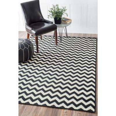 Charles Black 3 ft. x 8 ft. Runner Rug