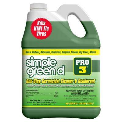Pro 3, 128 oz. Herbal-Pine Professional Grade Disinfectant