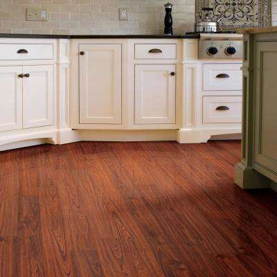 Embossed Brazilian Cherry 7 mm Thick x 7-11/16 in. Wide x 50-5/8 in. Length Laminate Flooring (875.88 sq. ft. / pallet)