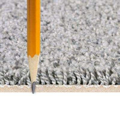 Vintage Elements Superb Gray 24 in. x 24 in. Residential Peel and Stick Carpet Tile 10 (Tile/Case)