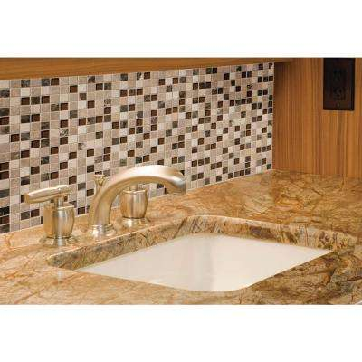 Ibiza Blend 12 in. x 12 in. x 8mm Textured Glass and Stone Mesh-Mounted Mosaic Tile (10 sq. ft. / case)