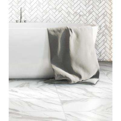 Avante Bianco Marble 12 in. x 24 in. Porcelain Floor and Wall Tile (425.6 sq. ft./pallet)