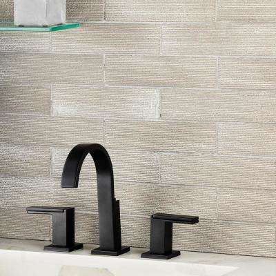 Weston Ridge White 2 in. x 9 in. 11mm Matte Clay Subway Wall Tile (33-piece 5.64 sq. ft. / box)