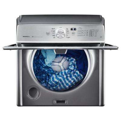 5.3 cu. ft. High-Efficiency Chrome Shadow Top Load Washer with Deep Clean Option, ENERGY STAR