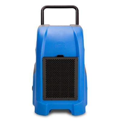 150-Pint 325 CFM Commercial Dehumidifier for Water Damage Restoration Mold Remediation in Blue