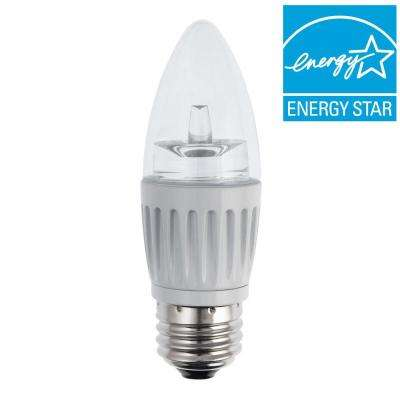 40W Equivalent Soft White B11 Dimmable LED Light Bulb
