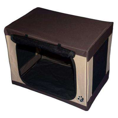 21.5 in. x 15 in. x 15 in. Travel Lite Soft Crate