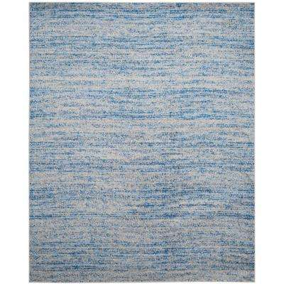 Adirondack Blue/Silver 5 ft. 1 in. x 7 ft. 6 in. Area Rug