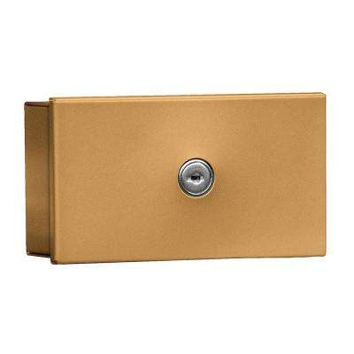 1080 Series Private Surface Mounted Key Keeper with Commercial Lock in Brass