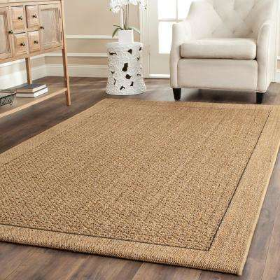 Palm Beach Natural 8 ft. x 10 ft. Area Rug