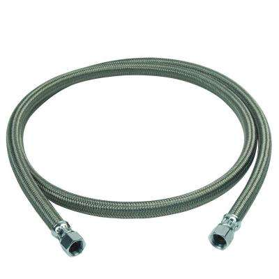 1/2 in. Compression x 1/2 in. Compression x 72 in. Braided Polymer Dishwasher Connector