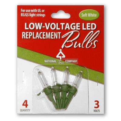 Replacement Soft White LED Bulbs