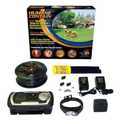 Humane Contain 50 Acre Multi-Function In-Ground Ultra Electronic Dog Fence