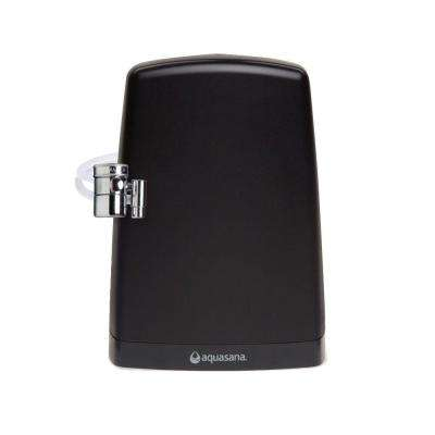 Premium Counter Top Water Filter System in Black
