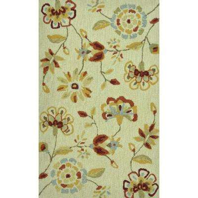Summerton Life Style Collection Beige 2 ft. 3 in. x 3 ft. 9 in. Accent Rug