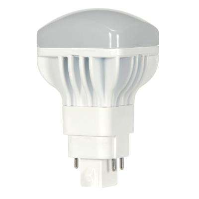 60W Equivalent Cool White A19 PL LED Light Bulb, Frosted