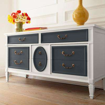 1 qt. #PPU24-23 Little Black Dress Interior Chalk Decorative Paint