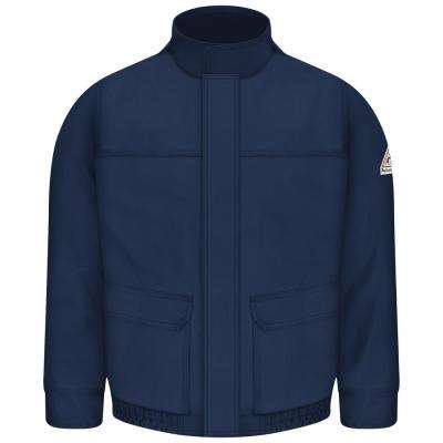 EXCEL FR ComforTouch Men's Navy Lined Bomber Jacket
