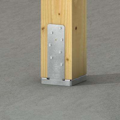 CBSQ Galvanized Standoff Column Base for 6x6 Nominal Lumber with SDS Screws