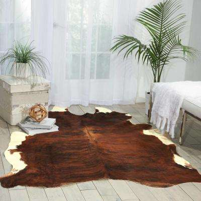 Free Shape Hide Exotic 5 ft. x 7 ft. Area Rug