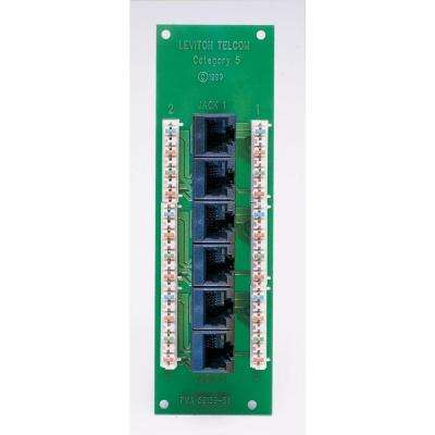 1x6 Cat5E Voice and Data Expansion Board