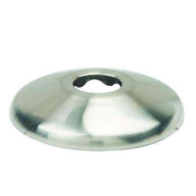 3/8 in. IPS Shallow Escutcheon in Satin Nickel