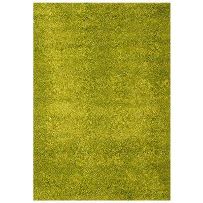 Domino Apple Green 5 ft. 3 in. x 7 ft. 6 in. Area Rug