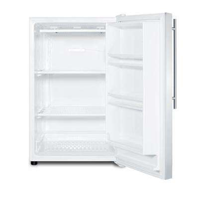 5 cu. ft. Upright Beer Freezer in Stainless Steel