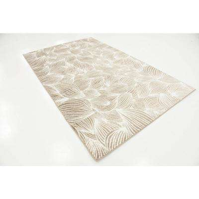 Metro Gentle Wind Beige 5' 0 x 8' 0 Area Rug