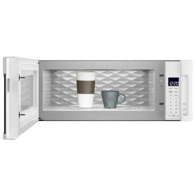 1.1 cu. ft. Over the Range Low Profile Microwave Hood Combination in White
