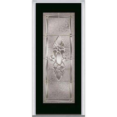 Heirloom Master Decorative Glass Full Lite Painted Majestic Steel Prehung Front Door
