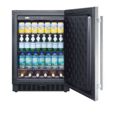4.6 cu. ft. Mini Refrigerator in Stainless Steel