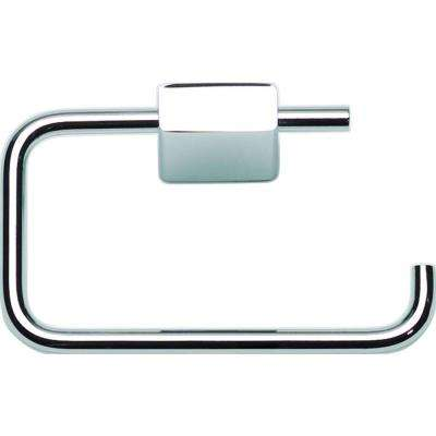 Elements Collection Single Post Toilet Paper Holder in Polished Chrome