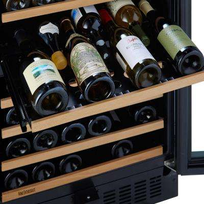 N'FINITY PRO M 94-Bottle 23.75 in. Dual Zone Wine Cellar