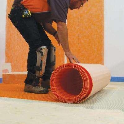 Ditra-Heat 3 ft. 3 in. x 41 ft. 1 in. Uncoupling Membrane Roll