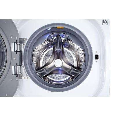4.3 cu. ft. White All-in-One Washer and Electric Ventless Dryer